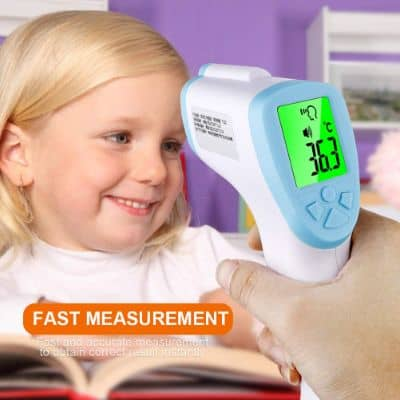Meiyum Baby Thermometer, Non-Contact Digital Laser Infrared Thermometer for Fever Ear and Forehead