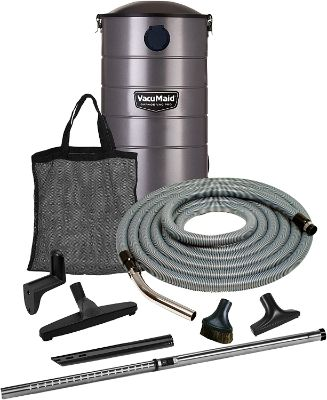 VacuMaid GV30PRO Wall Mounted Garage and Car Vacuum with 30 ft. Hose and Tools