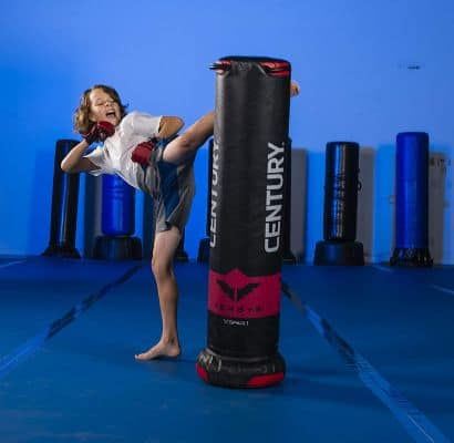Century Youth V.SPAR.1 Versys Punching Bag, Black:Red