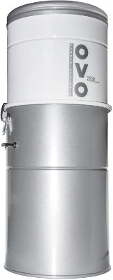 OVO Heavy Duty Powerful Central Vacuum System, Hybrid Filtration (with or Without Disposable Bags) 35L