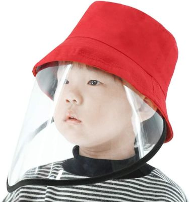 Protective Transparent, Protective Children Fisherman Hat