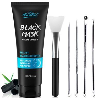 Black Mask-Blackhead Removal Mask Peel Off Facial Black Mask