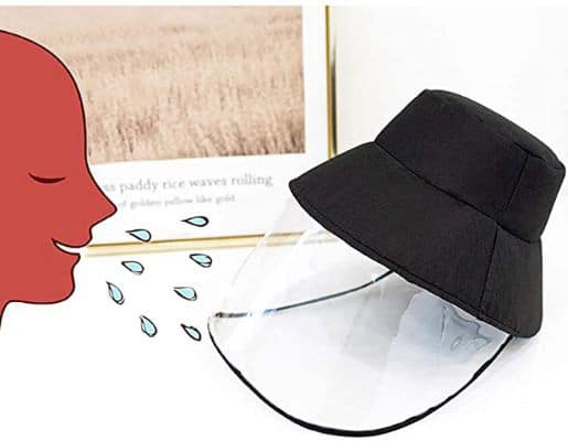 Non-Removable Transparent Protective Hat