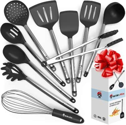 Cooking Silicone Utensils Set 10