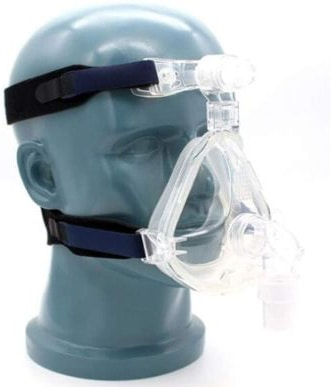 Full-Face Mask with Adjustable Head-Gear