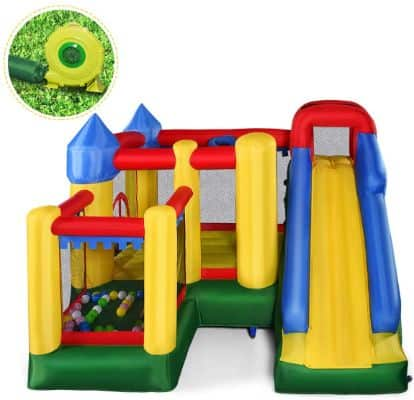 Giantex Mighty Inflatable Bounce House Castle Jumper Moonwalk Bouncer