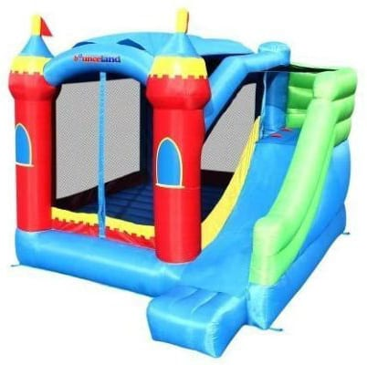 Royal Palace Inflatable Bounce House W:Slide Bouncer