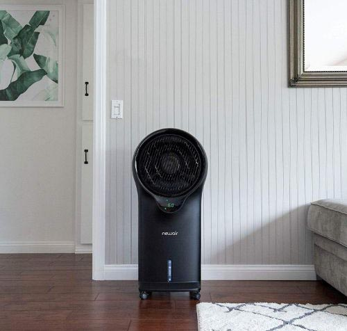 Luma Comfort Portable Evaporative Air Cooler with Fan & Humidifier, Indoor Tower Fan, EC111B