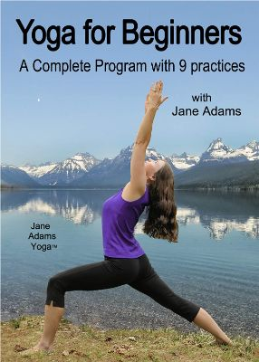 Yoga for Beginners- A Complete Program with 9 Practices. 2 DVD set