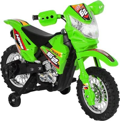 Best Choice Products Kids 6V Ride On Motorcycle w: Training Wheels