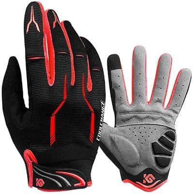 Cool Change Full Finger Bike Gloves
