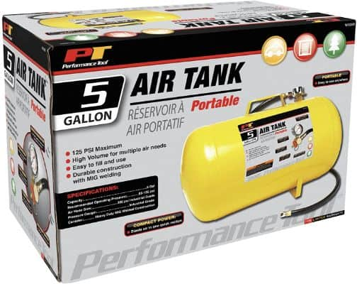 Horizontal Portable Air Tank