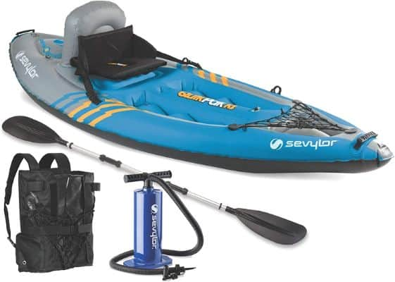 Quikpak 1-Person Inflatable Kayak
