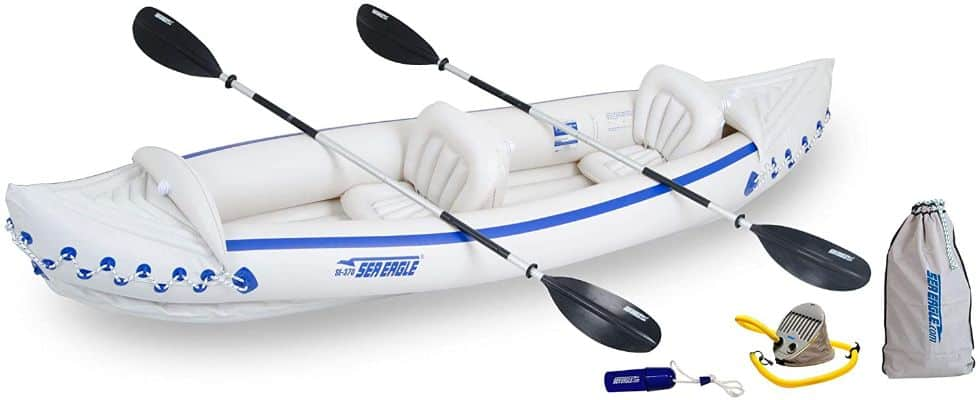 Three-Person Inflatable Kayak