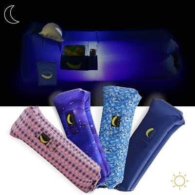 Inflatable Lounger With LED Light