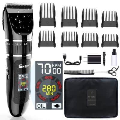 Professional Clipper With Waterproof Blades