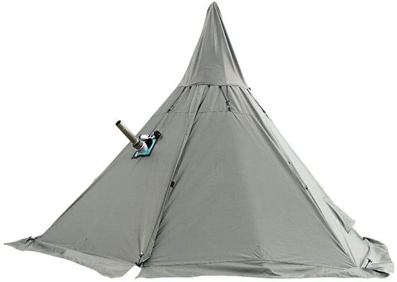 4-Season Waterproof Tent With Stove Jack