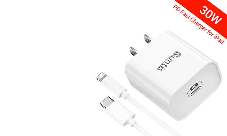 Quntis 30W - iPad Charger iPhone Fast Charger MFi Certified 1