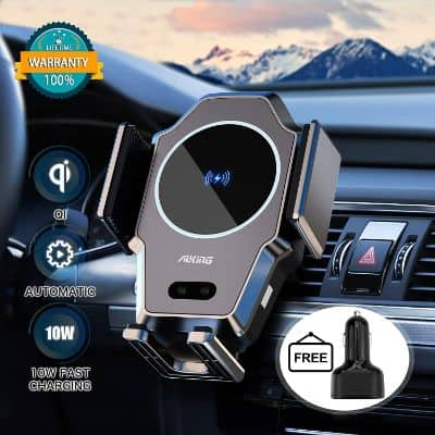 Infrared Induction Fast Wireless Car Charger