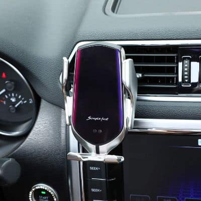 2-In-1 Auto Clamping Wireless Car Charger