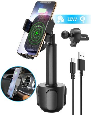 2-In-1 Universal Wireless Car Charger